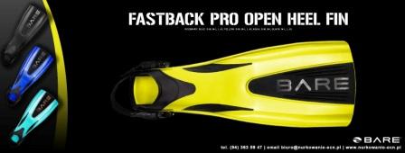 Płetwy BARE Fastback Pro