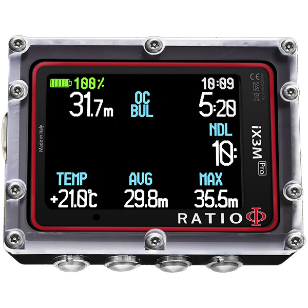 Komputer DIVE SYSTEM RATIO iX3M GPS Tech+