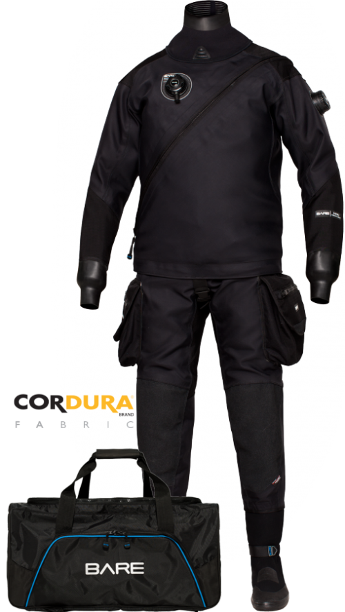 Suchy skafander HDC EXPEDITION TECH DRY promocja gratis ocieplacz MID LAYER FULL