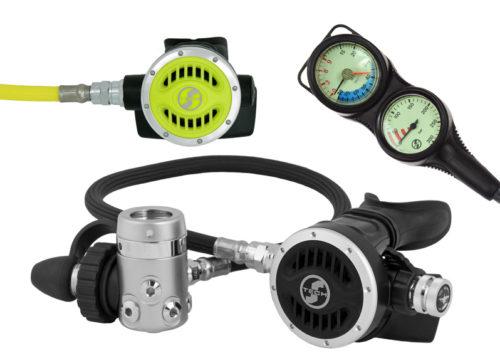 automat oddechowy scubatech R 5 ICE Special zestaw 2