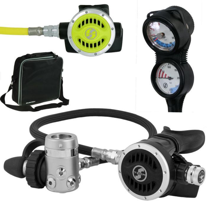 automat oddechowy scubatech R 5 ICE zestaw 3