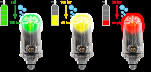 Ratio Bezprzewodowy nadajnik ciśnienia w butli